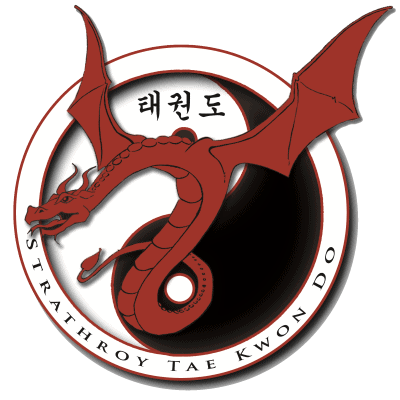 Strathroy Taekwondo Logo and link to website